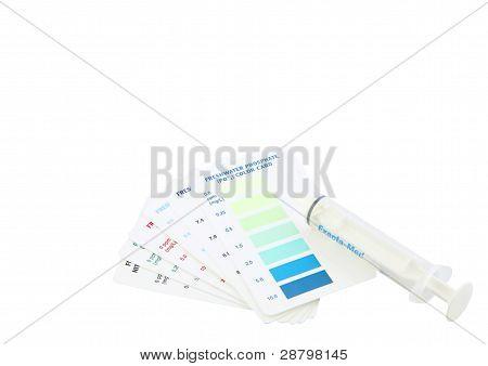 Kit de teste de aquário