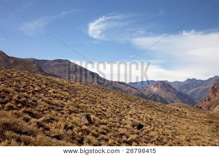 landscapes of andes in argentina
