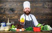 Freshest Possible Ingredients. Organic Food. Fresh Ingredients Only. Vegetarian Meal. Man Bearded Hi poster