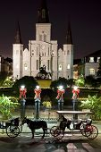 Saint Louis Cathedral Night