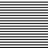 Horizontal Straight Lines With  The White:black (thickness) Ratio Equal With 21:13fibonacci Ratio (t poster