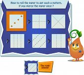 Game How To Roll The Paper poster
