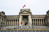 The Palace Of Justice Of Lima Is The Main Seat Of The Supreme Court Of Justice Of The Republic Of Pe poster