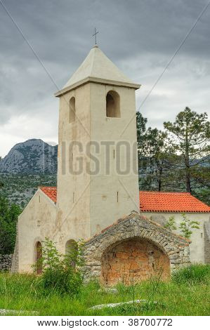 Church of St. Peter, Starigrad - Paklenica, Croatia