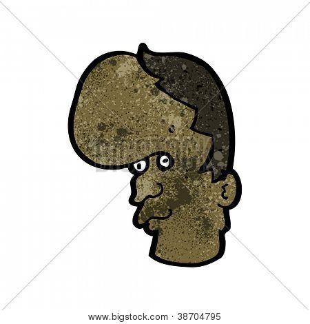 homem mutante de desenhos animados
