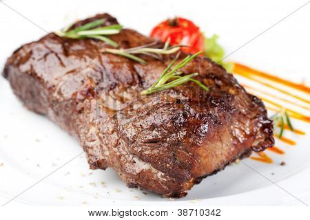 Grilled sirloin steak