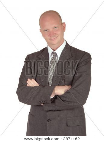 Smug And Confident Businessman