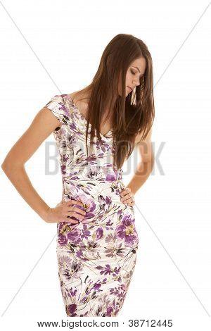 Flower Dress Looking Down