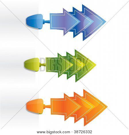 Attachable arrows