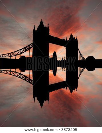 Tower Bridge At Sunset