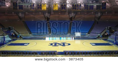 Notre Dame Basketball Court