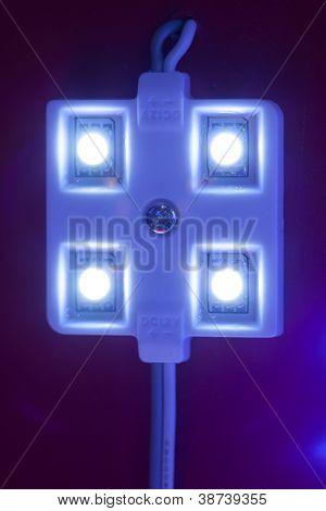 módulo de luz LED, close-up vista