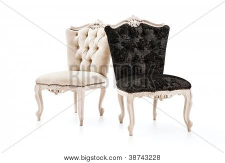 Luxurious vintage chair