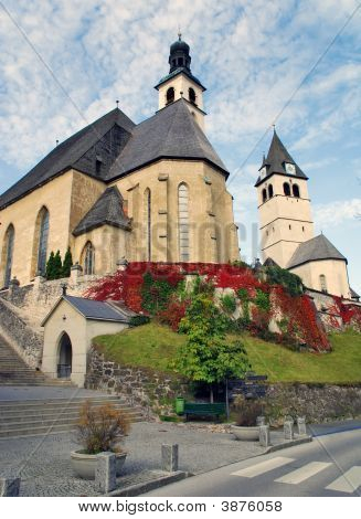 Parish Church And Church Of Our Lady  Kitzbuhel Austria