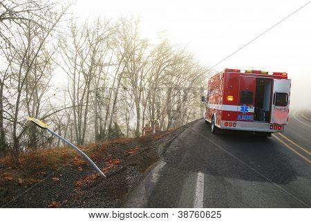Foggy Wreck