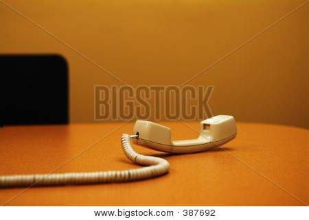 Conference Room Phone Off The Hook