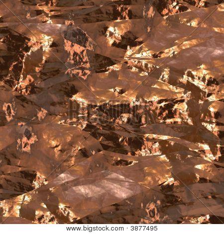 Gold Foil Surface