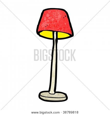 cartoon lamp
