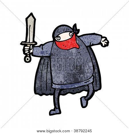 cartoon bandit