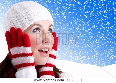 Chica de invierno