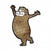 foto of bigfoot  - cartoon bigfoot - JPG