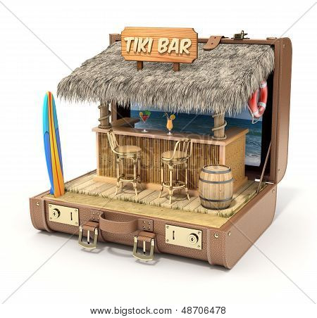 Bar tiki no caso