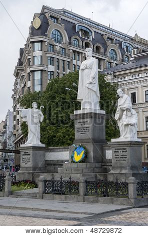 Great Kiev Duchess Olga, Apostle Andrew, Saints Cyril And Methodius