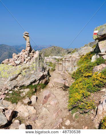 Gr20 Trail In Corsica