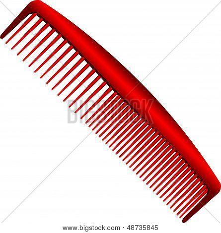 Men Red Comb