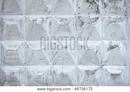 Concrete Slab Covered With Lime