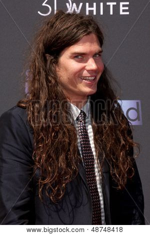 LOS ANGELES - AUG 1:  Matthew Mosshart arrives at the 2013 Young Hollywood Awards at the Broad Stage on August 1, 2013 in Santa Monica, CA