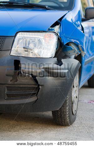 Frontal damage