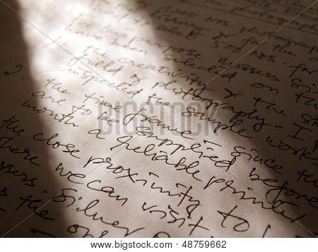 English  Handwriting