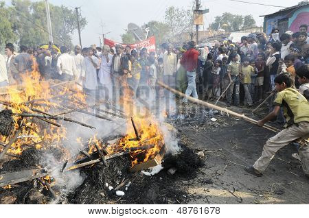Bhopal Agitation.