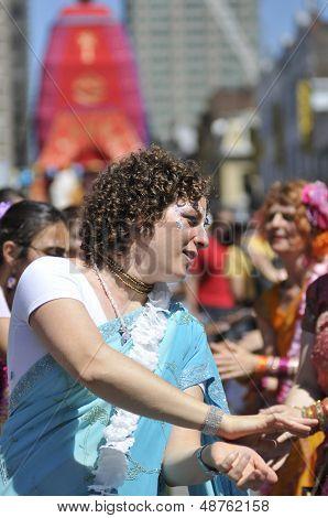 Hare Krishna Parade in Toronto.