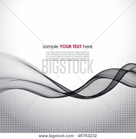 Abstract smoke vector background.