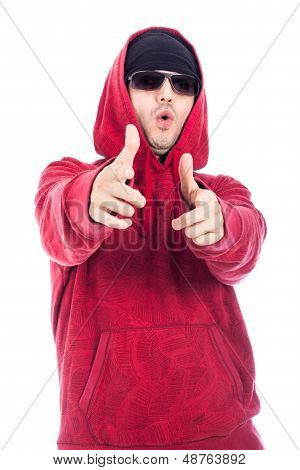 Hip-hopper Pointing