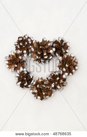 Pinecone Heart