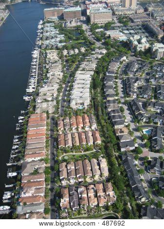 Aerial Of Condos