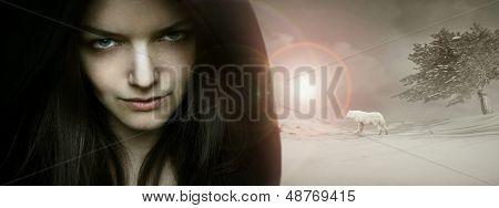 Fantasy Seductive Portrait