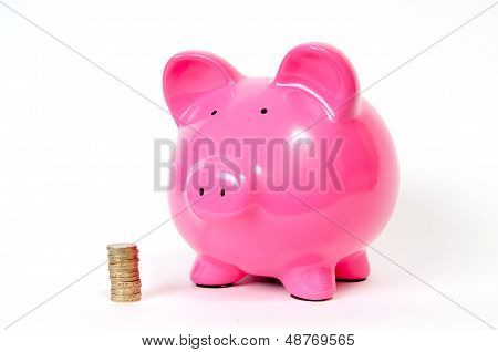 Piggy Bank With Gbp
