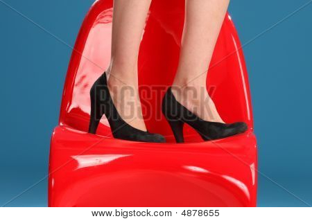 Woman's Black Shoes