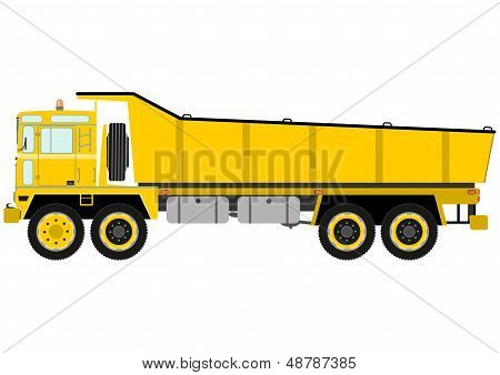 Heavy Tipper Truck