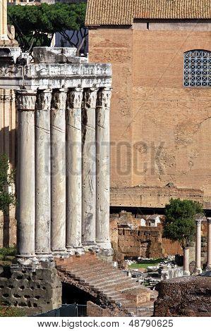 Antique Pillars