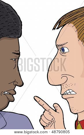 Two Men Arguing