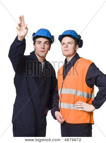 Construction-workers