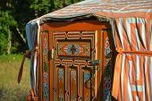 stock photo of yurt  - Yurt  - JPG