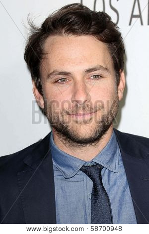 Charlie Day at the Paley Center for Media 2013 Benefit Gala, 20th Century Fox Studios, Los Angeles, CA 10-16-13