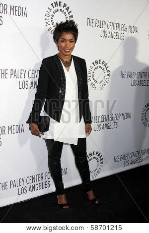 Angela Bassett at the Paley Center for Media 2013 Benefit Gala, 20th Century Fox Studios, Los Angeles, CA 10-16-13