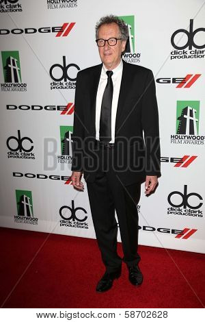 Geoffrey Rush at the 17th Annual Hollywood Film Awards Arrivals, Beverly Hilton Hotel, Beverly Hills, CA 10-21-13